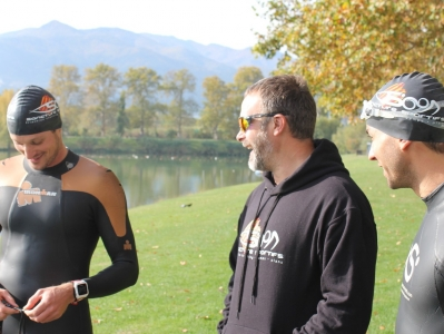 Richard Laidlow SAncture Tri Coach Open Water Swim Training