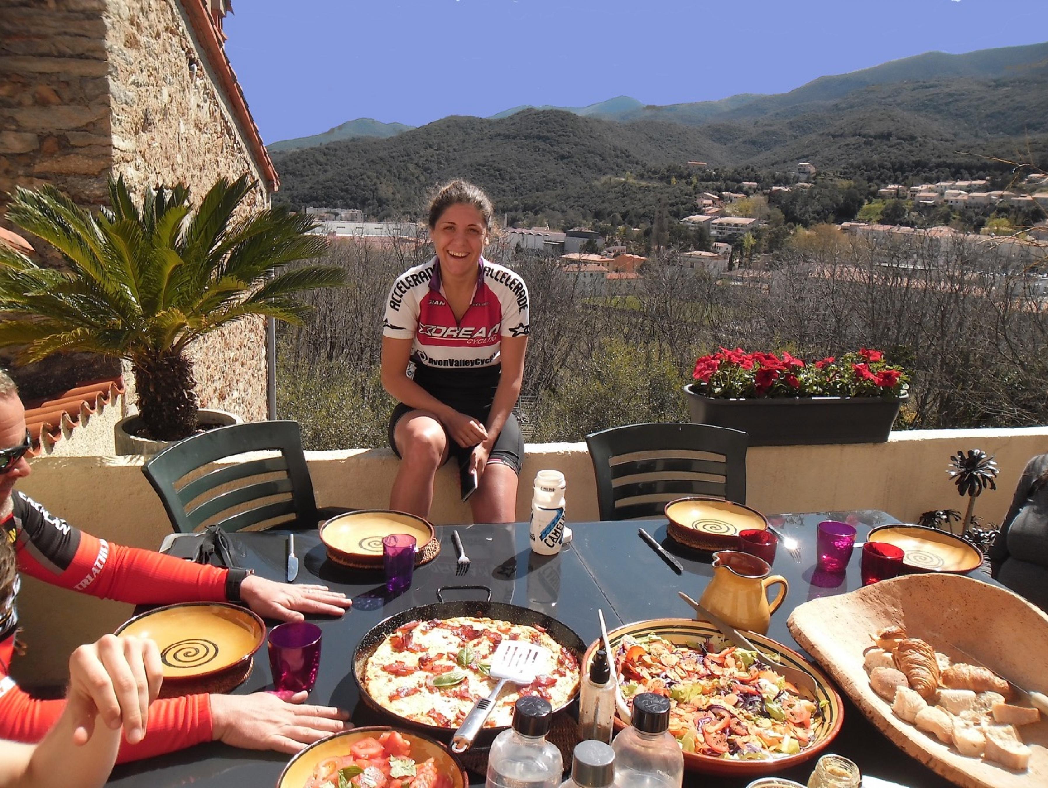 Lunch on the Terrace Sancture Sportifs