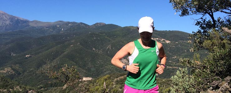 Running In Languedoc-Rousillon