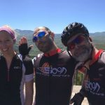 Fulontri athletes with their IRONMAN Coach, during a warm weather camp.