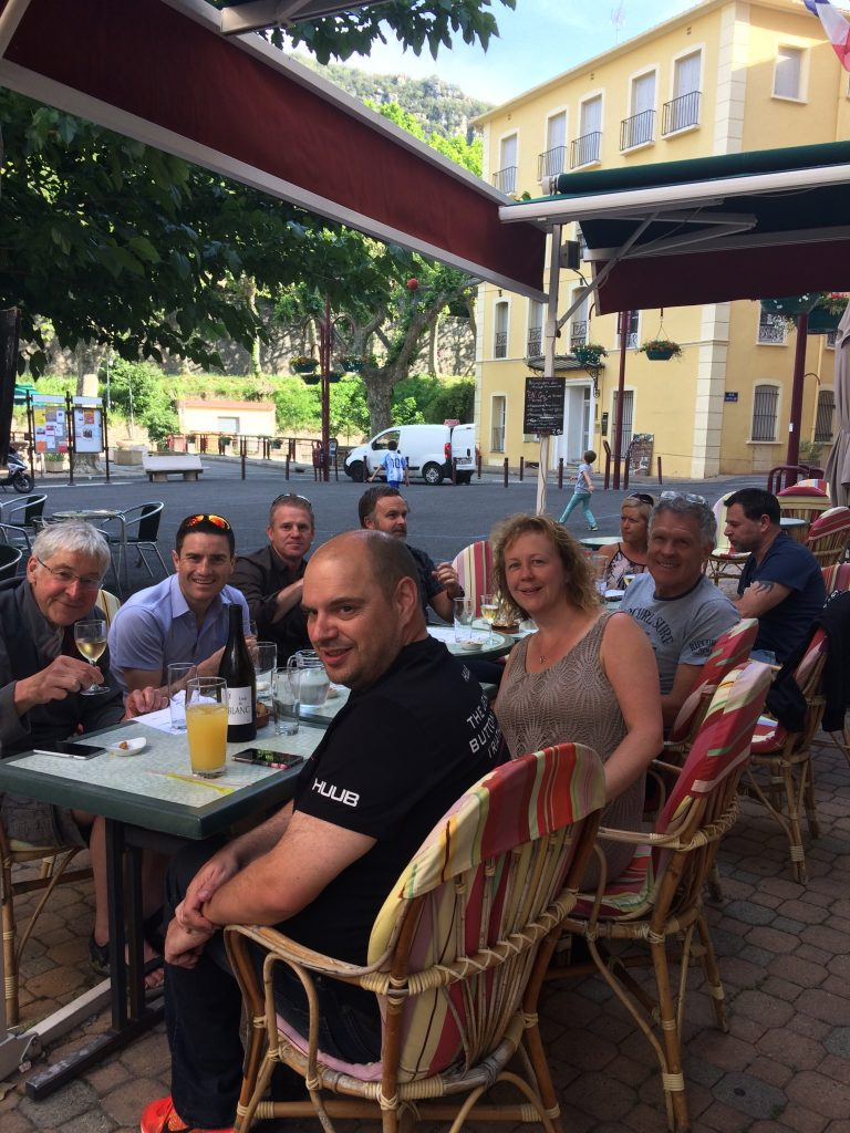 Down time at Triathlon Training Camps in the South of France
